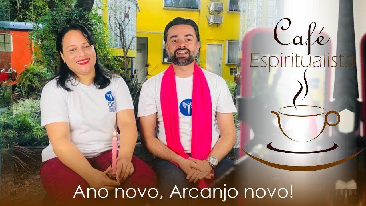 Mestres Daniel Souza e Suely Cyrino na Casa de Miguel transmitindo o programa Café Espiritualista